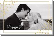 Obraz, Podziękowania ślubne, 30x20 cm
