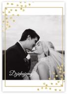 Plakat, Podziękowania ślubne, 30x40 cm