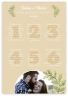 Plakat, Witamy gości weselnych, 50x70 cm
