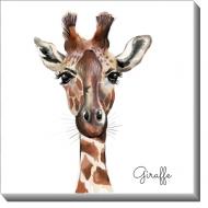 Obraz, Giraffe, 30x30 cm