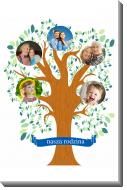 Obraz, Drzewo rodzinne, 40x60 cm