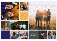 Puzzle, Nowoczesny, 60 elementów