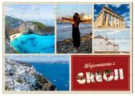 Puzzle magnetyczne, Wspomnienia z Grecji, 60 elementów