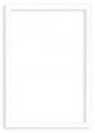 Plakat w ramce, Pusty szablon - biała ramka , 20x30 cm