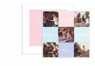 Fotokartki Insta kolory, 14x14 cm