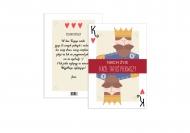 Fotokartki Król Tatuś Pierwszy, 15x20 cm
