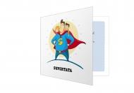 Fotokartki Kartka dla Taty Bohatera, 14x14 cm