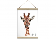 Obraz na sznurku, Giraffe, 20x30 cm