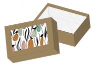 Pudełko kartonowe, Birds, 15x11 cm
