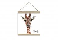 Obraz na sznurku, Giraffe, 30x30 cm