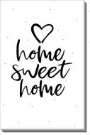 Obraz, Home Sweet Home, 20x30 cm