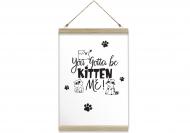 Obraz na sznurku, Kitten me, 20x30 cm
