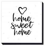 Obraz, Home Sweet Home, 30x30 cm
