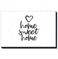 Obraz, Home Sweet Home, 30x20 cm