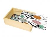 Pudełko, Birds, 12x17 cm