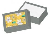 Pudełko kartonowe, Botaniczne, 15x11 cm