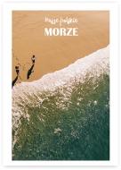 Plakat, Wakacje nad morzem - widok, 30x40 cm