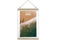Obraz na sznurku, Wakacje nad morzem - widok, 20x30 cm