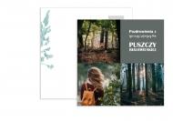 Fotokartki Pocztówka - Puszcza Białowieska, 14x14 cm