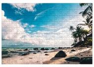 Puzzle, Plaża, 600 elementów