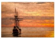 Puzzle, Zachód słońca, 600 elementów