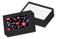 Pudełko kartonowe, Folk, 15x11 cm