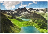 Puzzle, Góry, 600 elementów
