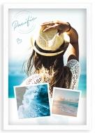 Plakat w ramce, Ocean - biała ramka, 20x30 cm