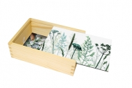 Pudełko, Roślinne, 12x17 cm
