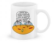 Kubek, Kolekcja życie-na-kreskę - Szczęśliwe muchy