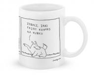 Kubek, Kolekcja Bazgram - Komiks na kubku