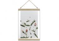 Obraz na sznurku, Czosnek, 20x30 cm