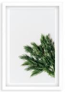 Plakat w ramce, Przyprawy kuchenne - biała ramka, 20x30 cm
