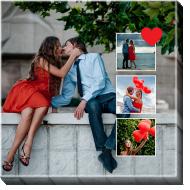 Obraz, Tvůj projekt láska, 40x40 cm