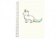 Notes Kolekcja Rynn rysuje - Unicat - kratka, 15x21 cm