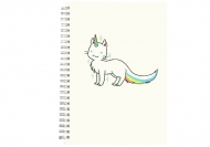 Notes Kolekcja Rynn rysuje - Unicat , 15x21 cm