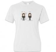 Koszulka damska, Kolekcja Rynn rysuje - Przed i po 30 - damska