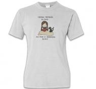 Koszulka damska, Kolekcja Rynn rysuje - miska z jedzonkiem