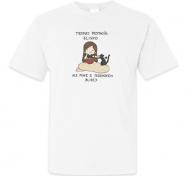 Koszulka męska, Kolekcja Rynn rysuje - miska z jedzonkiem