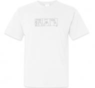 Koszulka męska, Kolekcja Bazgram - Weekend