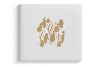 Album z eko skóry Birds, 24x24 cm