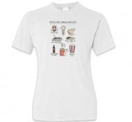 Koszulka damska, Kolekcja Rynn rysuje - Rzeczy co smakują