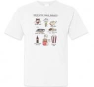 Koszulka męska, Kolekcja Rynn rysuje - Rzeczy co smakują