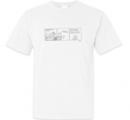 Koszulka męska, Kolekcja Bazgram - Zasadzka