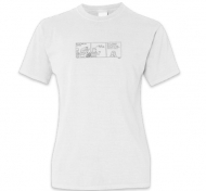 Koszulka damska, Kolekcja Bazgram - Zasadzka