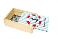 Pudełko, Marynistyczny, 12x17 cm