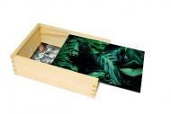 Pudełko, Monstera, 12x17 cm