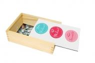 Pudełko, Wolność, Miłość, Szczęście, 12x17 cm