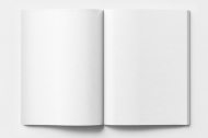 Fotozeszyt Pusty szablon, 15x20 cm