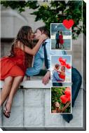 Obraz, Twój projekt miłosny, 20x30 cm